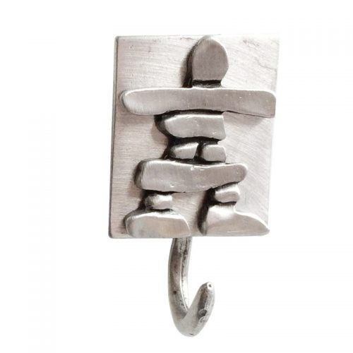 Magnetic inukshuk hook